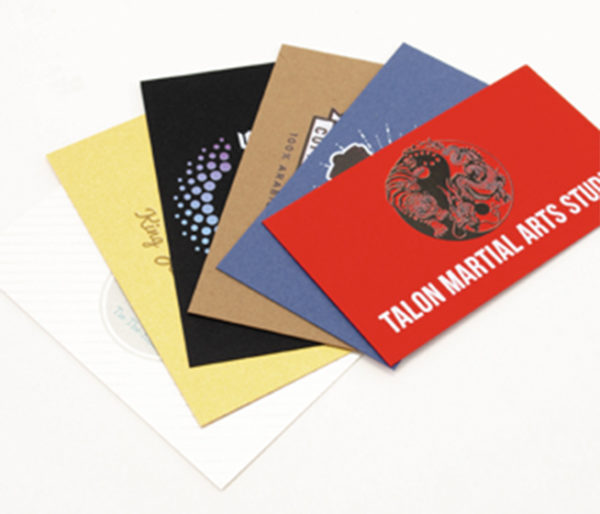 business cards in all sizes and colors for all business needs