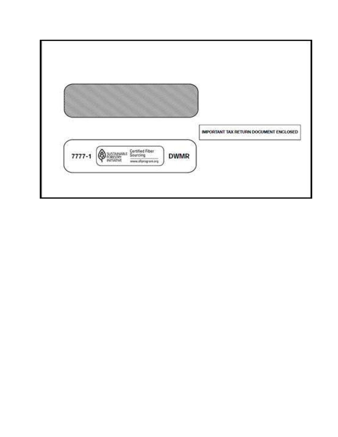 Envelopes for Tax Forms
